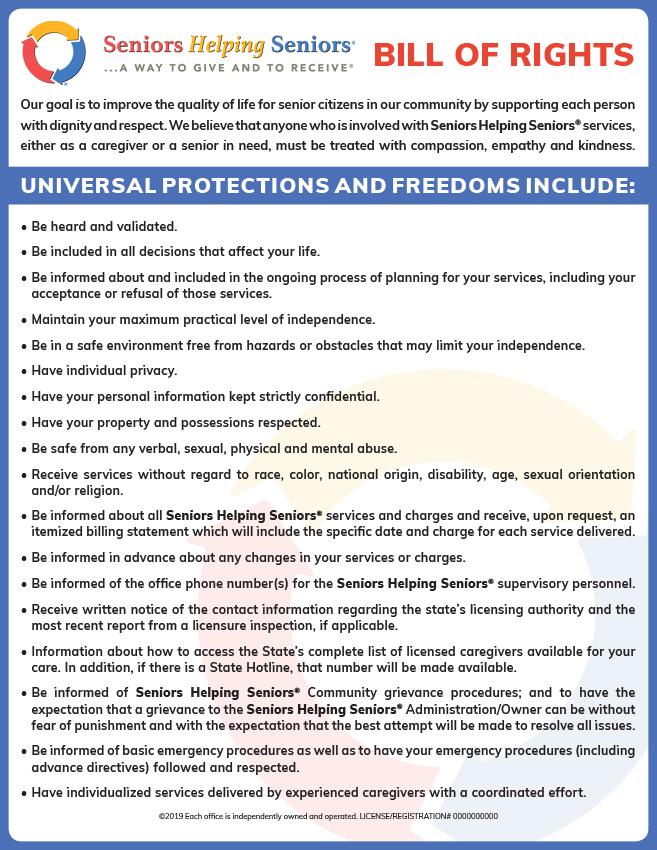 SHS Bill of Rights